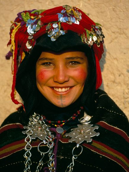 Imilchil Marriage Festival in Ait Hdidou tribes in High Atlas Mountains in Morocco (1/4)