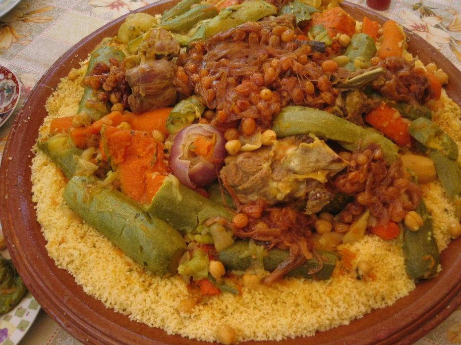 Moroccan couscous as a national Dish